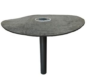 Flachdachablauf-DN-50-Laubfang-Bitumen-Flansch-rund-Dachgully-Einlauf-Korb