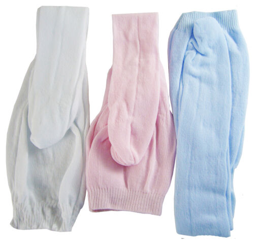 "3 Pair Tights Pink Light Blue DOLL CLOTHES For 18/"" American Girl White"