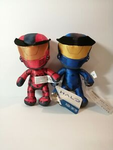 New-HALO-Blue-and-Red-Spartan-8-034-Licensed-Plush-Stuffed-Toys