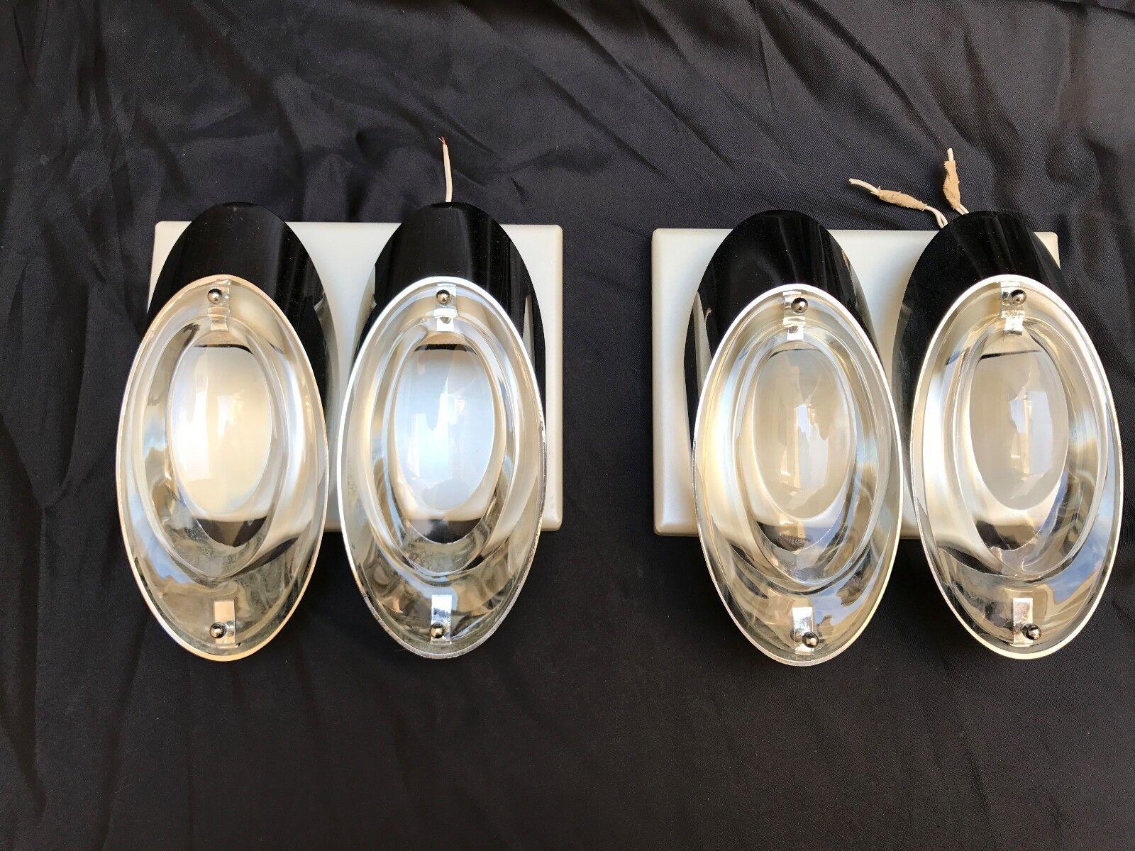 Vintage vintage vintage pair lamp applique parete mid century oscar