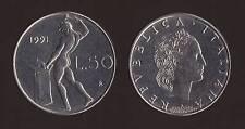 50 LIRE 1991 VULCANO VARIETA' ROMBO - ITALIA