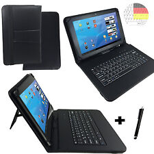 Deutsch Tastatur Case - Samsung Galaxy Tab 4 Advanced - 10.1 Zoll Tasche Hülle