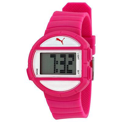 Puma Half Time Digital Pink Polyurethane Ladies Watch PU910892007