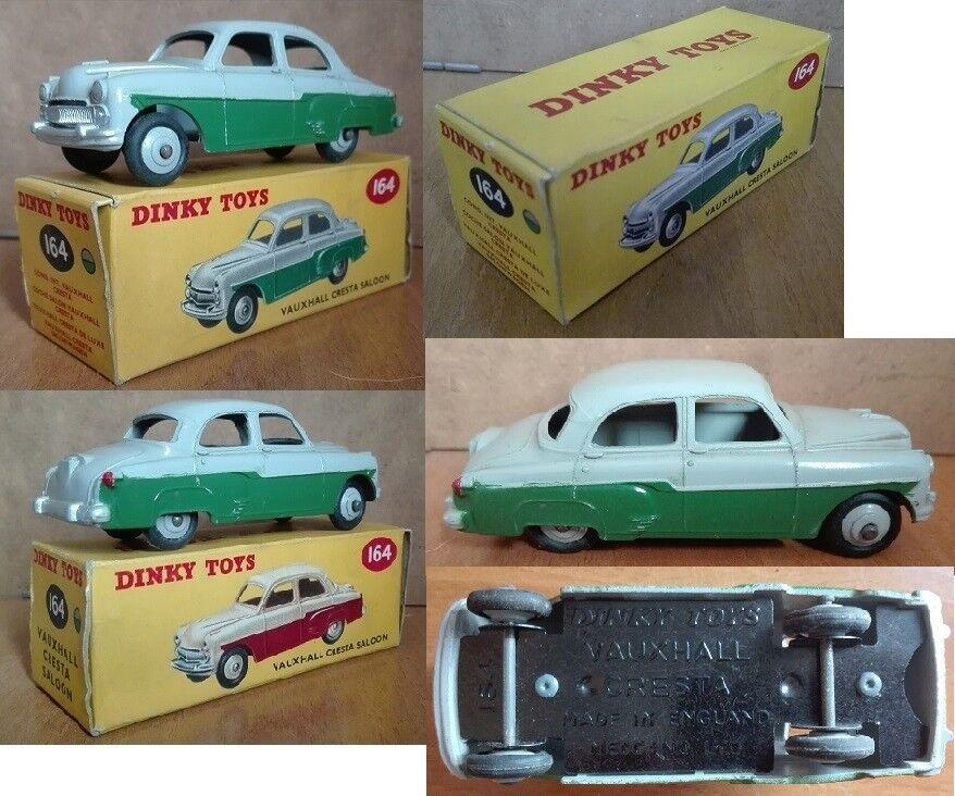 Dinky Toys 164 Vauxhall Cresta Saloon die cast 1 43 gris vert