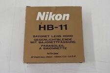 Nikon original HB-11 Sonnenblende gebraucht in ovp HB11