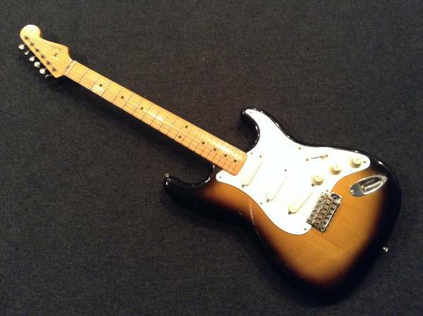 Fender Japan ST57-77LS 2TS beautiful rare EMS F S