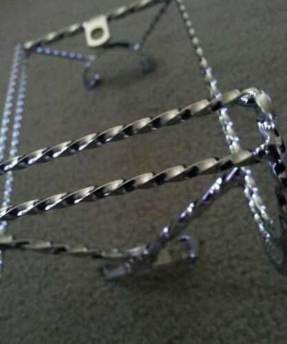 """DOUBLE  SQUARE TWISTED CONTINENTAL KIT CHROME  LOWRIDER 20/"""" BICYCLES"""