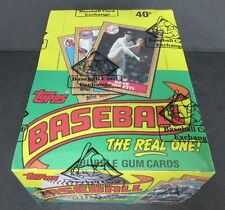 1987 Topps Baseball Unopened Wax Box (FASC) From A Sealed Case (BBCE)