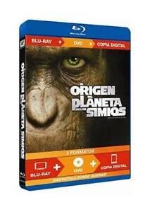El Origen del Planeta de los Simios Blu-ray (REGION LIBRE.A-B-C)