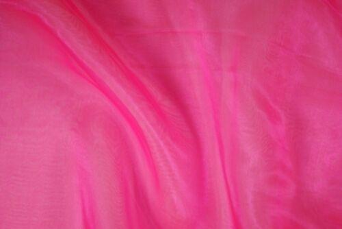 Farben 145cm breit // Fb Organza Nylon uni verschied 1-10 Toller Deko