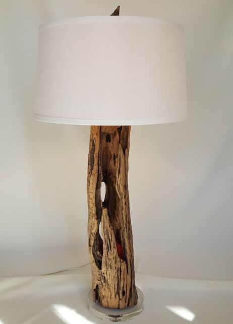 Driftwood 3 Way Table Lamp Functional Art Hand Crafted Unique One Of
