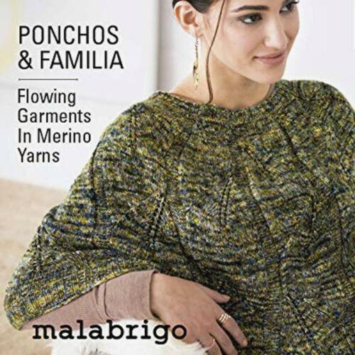 Ponchos /& Familia :Pattern Book #17: Malabrigo