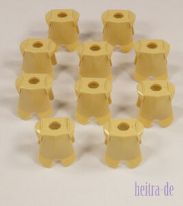 LEGO-10-x-Ritter-Ruestung-beige-Tan-Ritterruestung-Armor-2587-NEUWARE