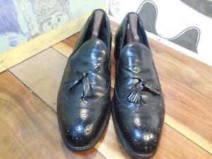 Vintage Bostonian Men/'s Wingtip Tassel Loafers