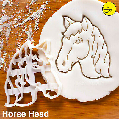Horse Cookie Pâtisserie Biscuit Cutter Icing Fondant Pâtisserie BAKE Cuisine poney équitation