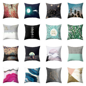 Am-Night-Sky-Geometry-Square-Pillow-Case-Cushion-Cover-Sofa-Bed-Car-Office-Deco