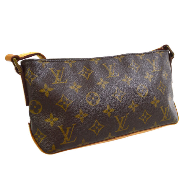 LOUIS VUITTON TROTTEUR CROSS BODY SHOULDER BAG AR0051 MONOGRAM M51240 A54708