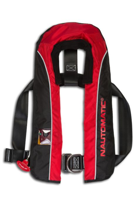 Rettungsweste Kadematic NAUTOMATIC® NAUTOMATIC® Kadematic 275 AL-F mit Harness ( Lifebelt ) 1801df