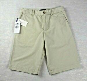 NWT-Polo-By-Ralph-Lauren-Boys-Chino-Shorts-Khaki-Basic-Sand-Size-10