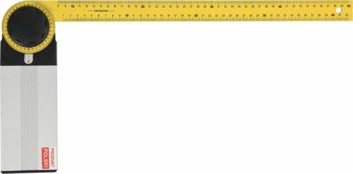 Angle Couteau Equerre combinée Charpentier Angle TONNELIER Angle Longueur 350 mm