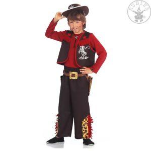 Cowboy Kinder Kostum Western Sheriff Fasching Karneval Mottoparty Df