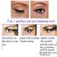 2-en-1-Pro-con-alas-Delineador-sello-Impermeable-Maquillaje-Lapiz-Delineador-de-Ojos-Liquido-Negro miniatura 12