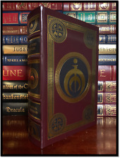 Signed 1st Numbered Elantris Leather Bound Ltd Edition by
