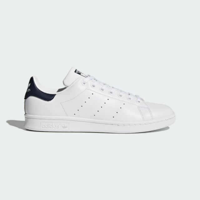 exclusive range good looking entire collection ADIDAS STAN SMITH MENS TRAINER SHOE SIZE 7 - 12 WHITE NAVY RRP £80/-