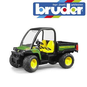 Bruder-John-Deere-Gator-855D-Childrens-Farm-Toy-Kids-Farming-Model-Scale-1-16
