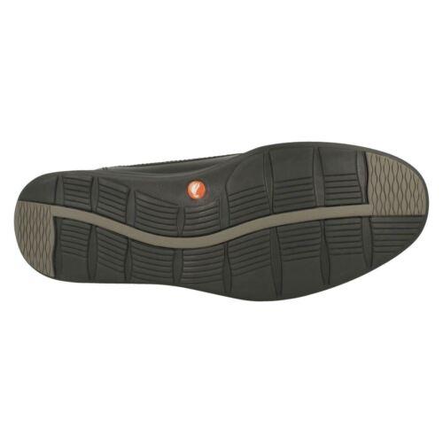 Clarks Un Ease Zapatos Con Unstructured Casuales Cordones Abode De Cuero Hombre dEBq6d