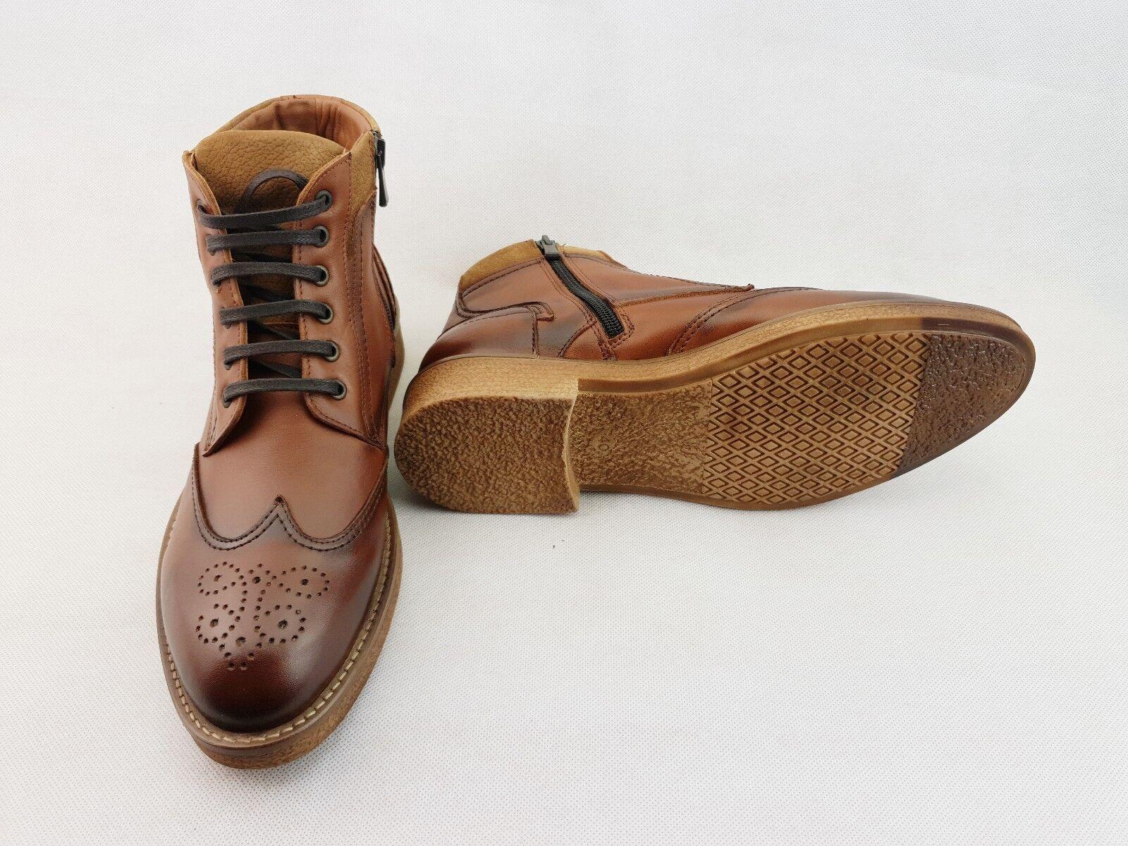 Leather Saddlers männer Stiefel Größe Uk 9