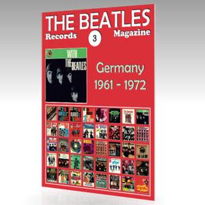 The-Beatles-registros-Revista-N-3-Alemania-1961-1972-guia-de-color-completo