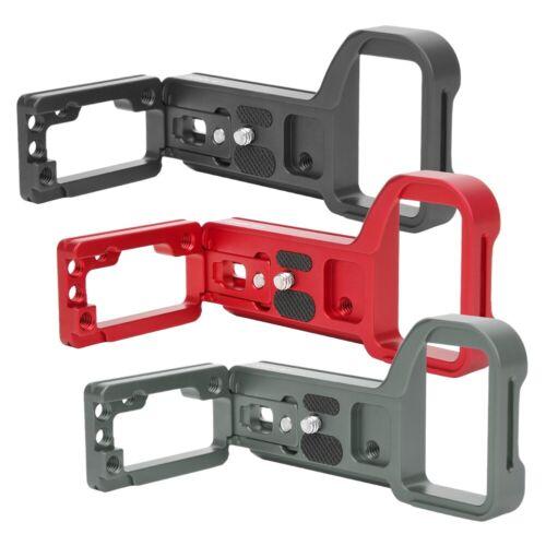 6 Accesorios Elástico de liberación rápida de forma de L Agarre Soporte Para Sony A6600 ILCE