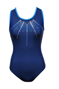 GK Elite adult XS or small olive green  Gymnastic  stock practice  Leotard