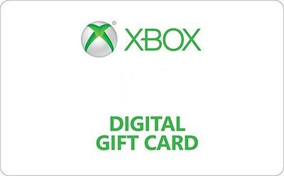 Xbox Digital Gift Card - $15 $25 $50 and $100 - Email