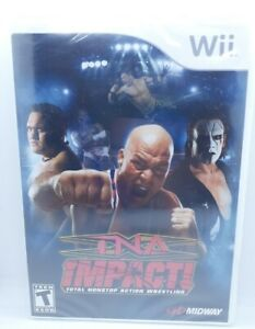 TNA Impact (Nintendo Wii, 2008), Brand New, Factory Sealed, Shrink Wrapped