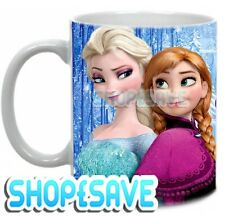 Personalised Name Frozen Anna & Elsa Mug, Birthday, Christmas Gift, Size 11oz