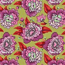 Tula Pink Elizabeth Astraea plum 100% cotton quilting fabric
