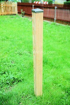 D Zaunpfosten super glatt  9x9x100  sibirischen Lärche Holzpfosten Zaun.
