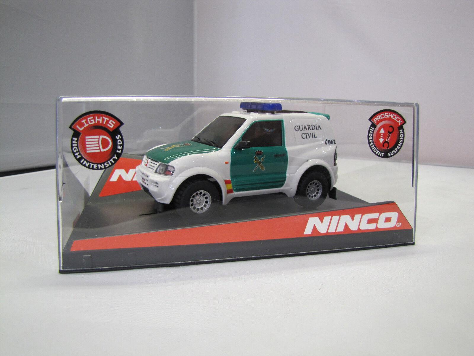50519 Ninco - Mitsubishi Pajero Guardia Civil - Slot Car 1 32  | Haltbarer Service