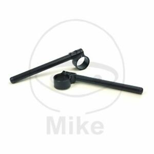 Semi-Bars-22MM-for-Stems-50MM-TRW-Black-Kawasaki-600-ZX6R-Ninja-F1-1998-1999