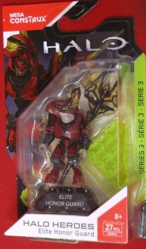 Mega Bloks Halo Heroes Series 3 Elite Honor Guard Figure Set DXR54 NISB