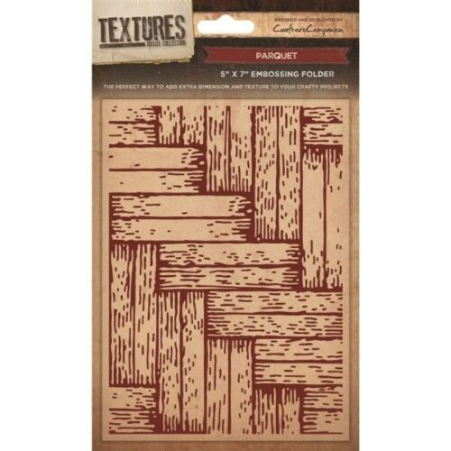 Textures Collection Embossing Folder Parquet EF5-PARQ