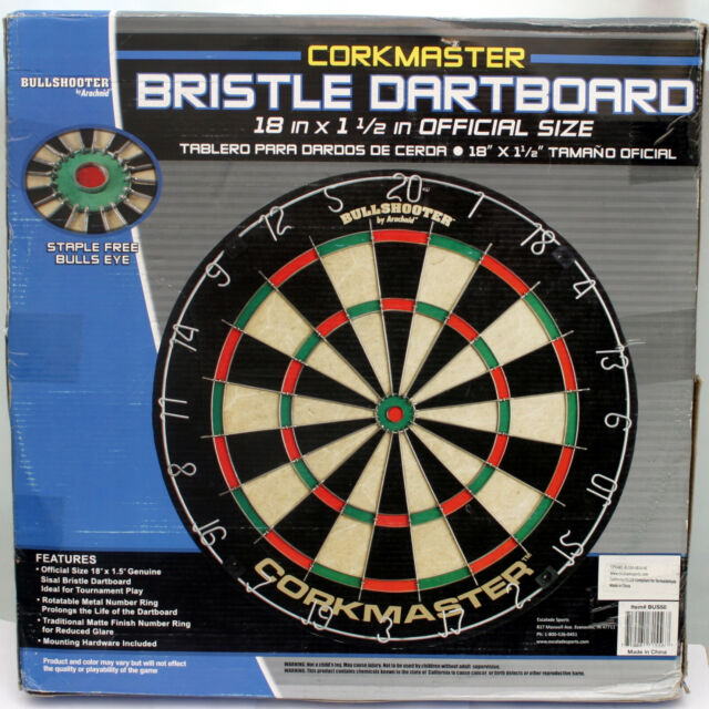 """18/"""" Official Bristle Dart Board"""