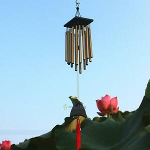 16-Tube-Metal-Pendant-Copper-Bell-Yard-Garden-Outdoor-Living-Wind-Chimes-Hot-New
