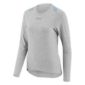 Louis-Garneau-Women-039-sTop-and-Bottom-Base-layer-medium-Gray