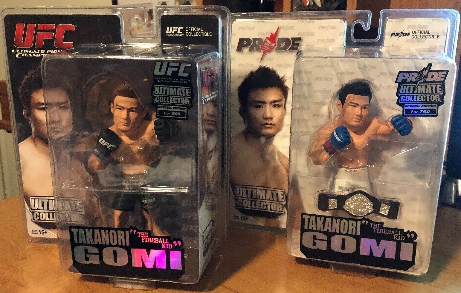 "Takanori ""The Fireball Kid"" Gomi Ultimate Collector Series PRIDE & UFC Editions"