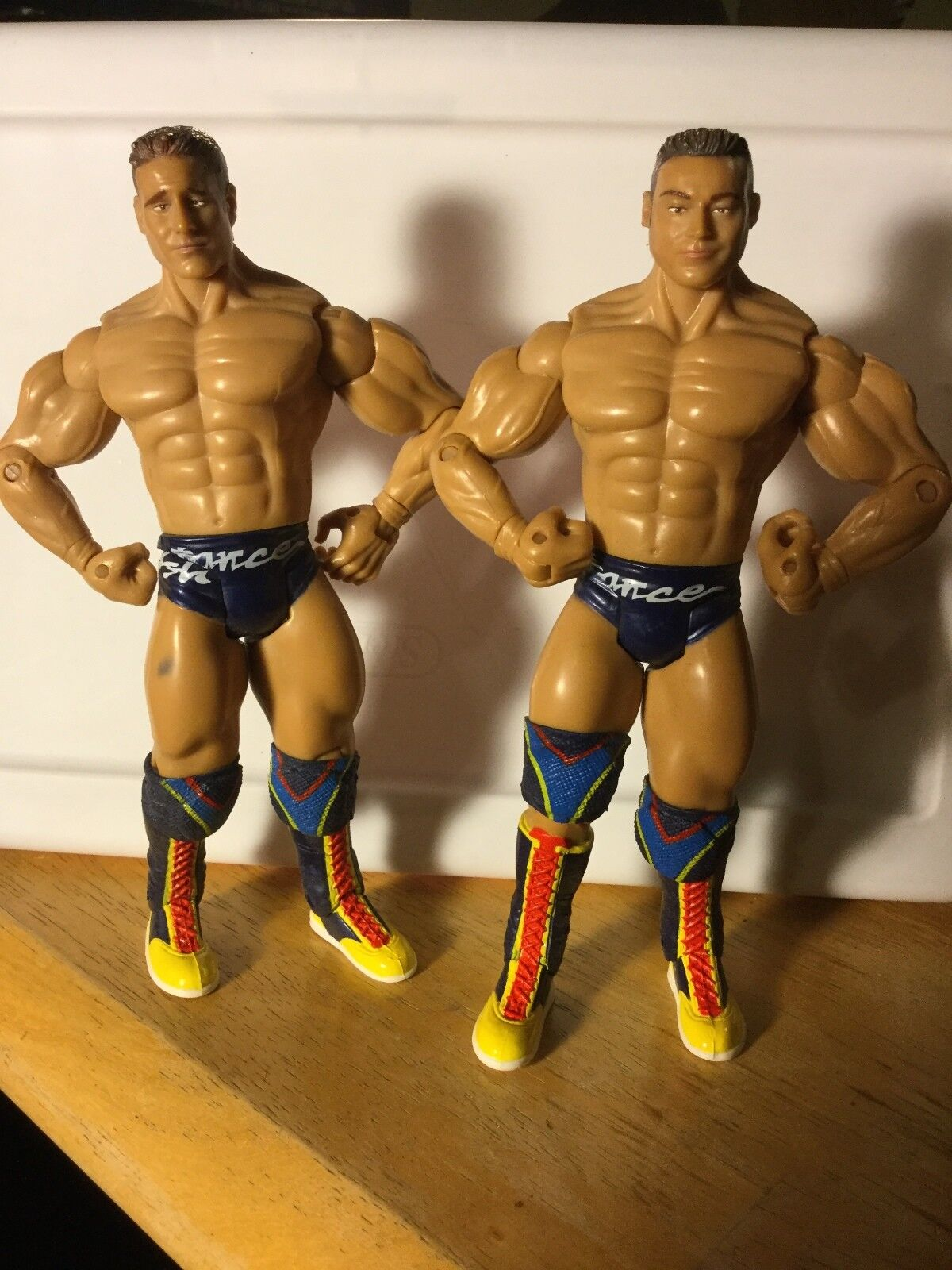 LA RESISTANCE ROB CONWAY & RENE DUPREE JAKKS WWE RUTHLESS AGGRESSION  FIGURES