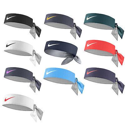 Candido Fascia Tergisudore Tennis Nike Dry Headband Swoosh Capelli Vari Colori