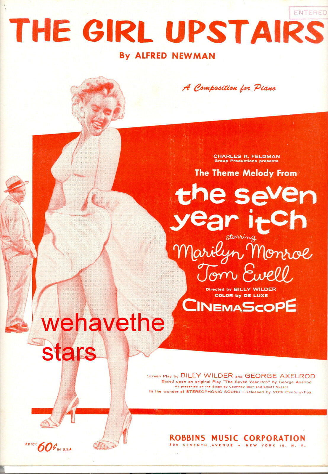THE SEVEN YEAR ITCH Sheet Music